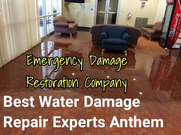Emergency water damage restoration Henderson
